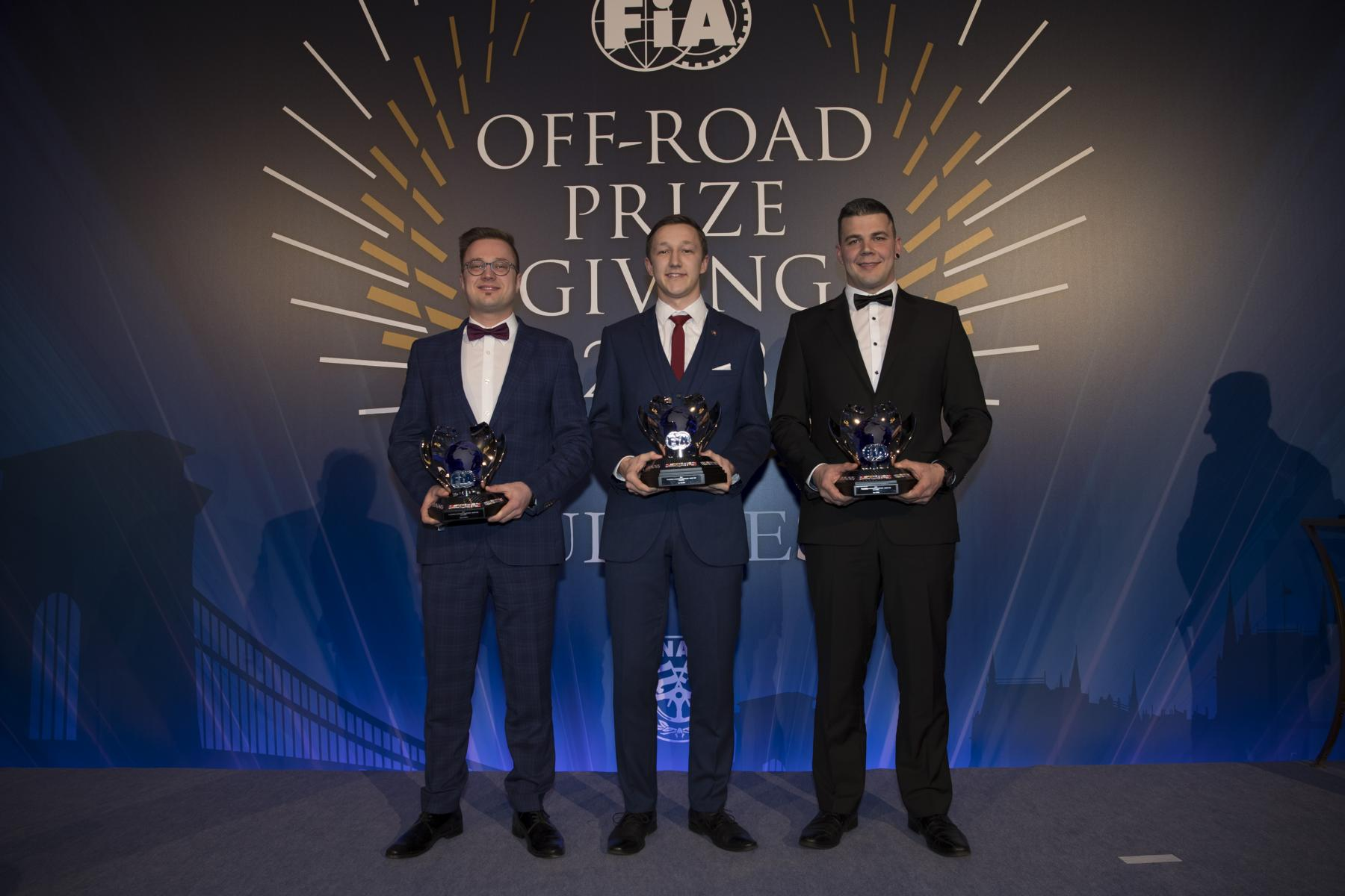 Kevin Peters, Vize Europameister, FIA European Autocross Championship Prize Giving Ceremony 2018 Budapest